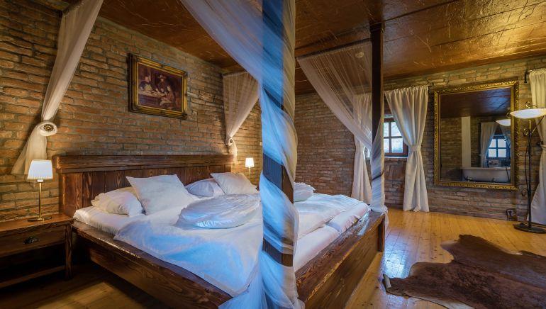 posteľ apartmán 1